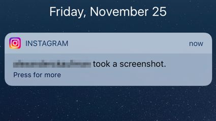 Instagram's new screenshot function isn't as bad as you think