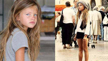 The child called the 'most beautiful girl in the world' is now a teenage model