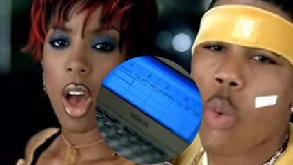 Nelly explains why Kelly Rowland tried to text him using excel