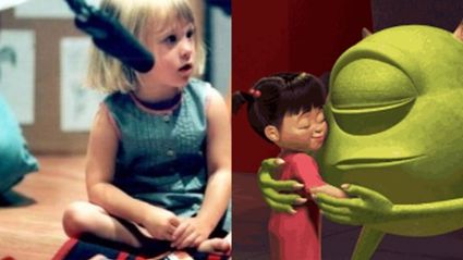 What the little girl who voiced 'Boo' from 'Monsters Inc' looks like now