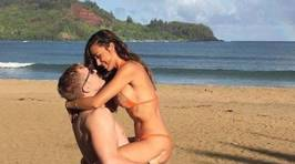 What happens when a couple asks the internet to photoshop an object out of their pic