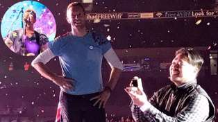 Chris Martin pauses Melbourne Coldplay concert for fan proposal; calls wrong woman onstage