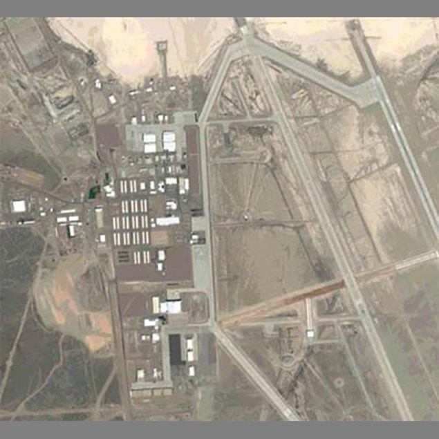 Area 51 - Probably the worst kept secret. Area 51 is the alias for a military base that is located in Nevada. Apparently the base's main purpose is research and development of experimental aircrafts and weaponry. There are other theories the base is used for analysis of UFO's and aliens.