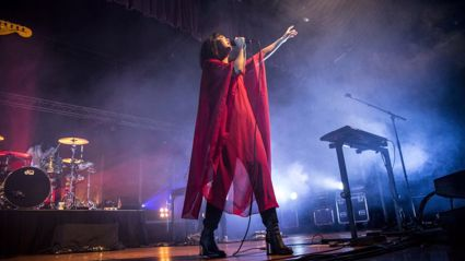 PHOTOS: The Naked and Famous Live in Auckland thanks to iHeartRadio and 2degrees