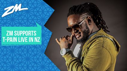 ZM Supports T-Pain Live in NZ