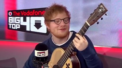 "Watch Ed Sheeran's perfect cover of Drake's ""One Dance"""
