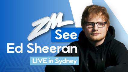 See Ed Sheeran LIVE in Sydney!