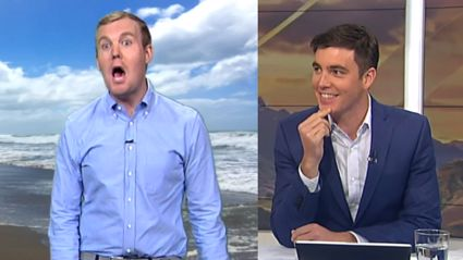 Jack Tame's accidental live TV burn of BFF Matty McLean leaves him gobsmacked