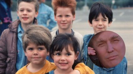 Just a friendly reminder that Donald Trump was in 'The Little Rascals'