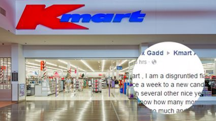 Man complains to Kmart because his partner can't stop buying stuff