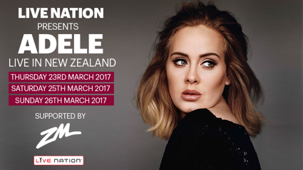 Win tickets to see Adele live in Auckland!