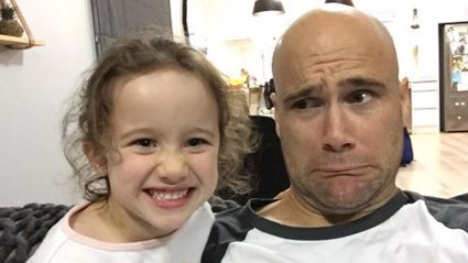 Hear Vaughan gush about his daughter Indie's first day of school