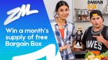 Win A Month's Supply of Free Bargain Box