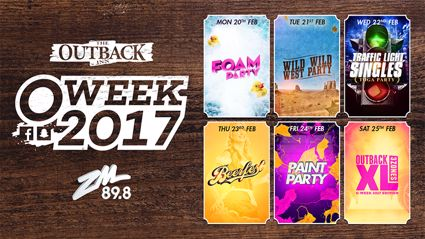 WAIKATO: ZM Presents O'Week at The Outback
