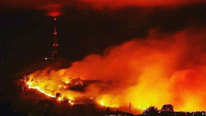 PHOTOS: The Christchurch Port Hills fire