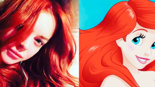 Lindsay Lohan is tragically trying to be cast as Ariel in The Little Mermaid remake