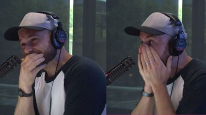 Vaughan breaks down in tears after hearing his daughters' emotional birthday messages