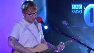 "Watch Ed Sheeran flawlessly cover Little Mix's ""Touch"" in the Live Lounge"