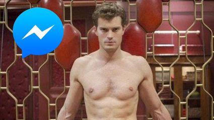 You can now DM a Christian Grey-bot and he's naughty!