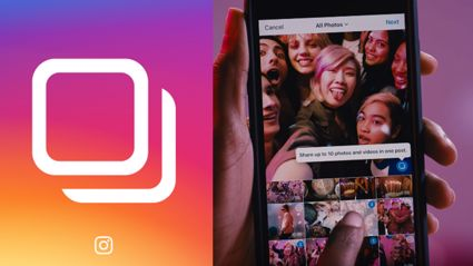 Instagram now let you uploads multiple photos in a post!