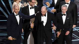 The wrong film was announced as best picture at the Oscars and Jimmy blames Steve Harvey