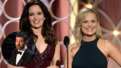 Oscars host Jimmy Kimmel accused of stealing joke from Amy Poehler and Tina Fey
