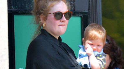Adele's son injured by firework at her show