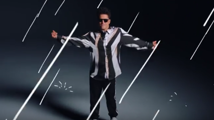 Bruno Mars gets animated in epic dance video for 'That's What I Like'