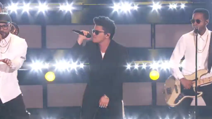 VIDEO: Bruno Mars performs LIVE at the iHeartRadio Music Awards 2017