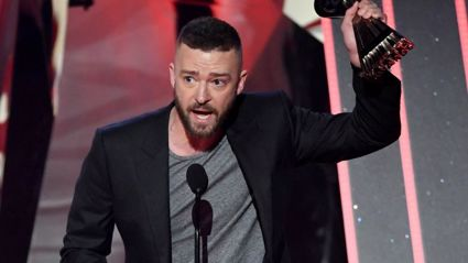 This one sentence in Justin Timberlake's iHeartRadio acceptance speech shook us