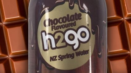 Chocolate water is now a real thing you can buy