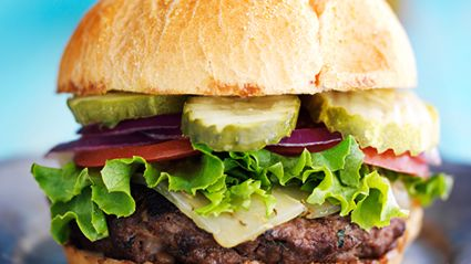 Apparently burgers are a better for you than superfood salads