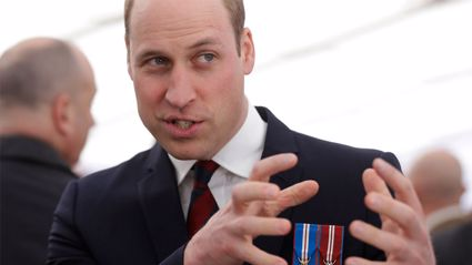 Watch Prince William tear up the dance floor with his sweet dance moves