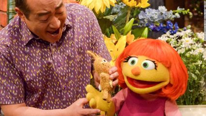Sesame Street debut new character with autism