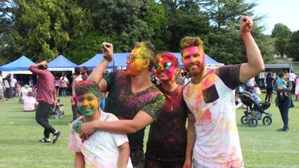 Colours in the park - HOLI - 2017 Photos (Part 1)