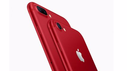 Apple releases red iPhone for an awesome cause