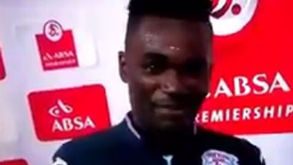Footballer who thanked wife and girlfriend in speech explains the mistake