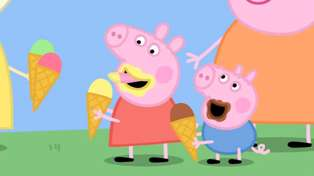 The girl who voices 'Peppa Pig is mega cute!