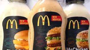 Big Mac & McChicken sauces are now sold Canadian supermarkets