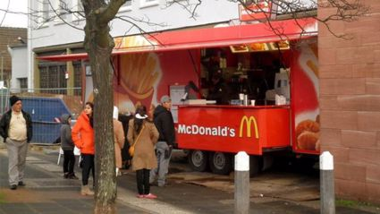 McDonald's food trucks could be in our near future!