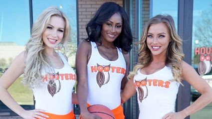 "Hooters are going to make ""family friendly"" uniforms..."