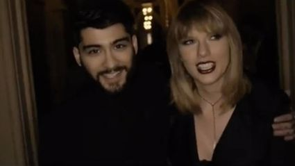 It looks like Taylor Swift intentionally sneaked something into her song with Zayn