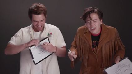 KJ Apa and Cole Sprouse prove their besties IRL with hilarious 'Bromance' test