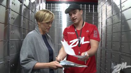 SEASON 2: Soundkeeper Gary inducts Hilary Barry as the official 'Secret Sound Key Master'