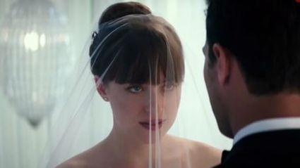 The first steamy peek at 'Fifty Shades Freed' is here!