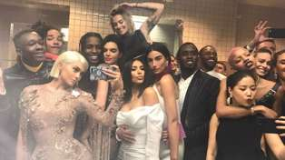 The reason the celebs all gathered in the bathroom during the MET Gala