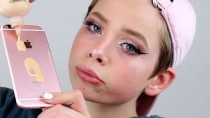 The newest foundation trend includes using your iPhone