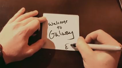 Ed Sheeran films his own music vid for 'Galway Girl'