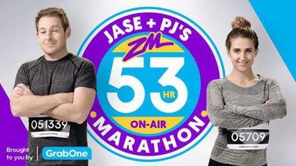 Jase & PJ's 53 hour on air marathon is back!