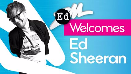 ZM Welcomes Ed Sheeran to NZ
